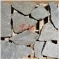 欧式风格文化石干砌片石板岩碎拼乱石厂家直供