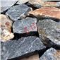 自產自銷廠家庭院鋪地石亂形石防滑仿古石片規格可定制
