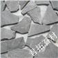 30厚板巖碎拼 漿砌片石 黑色碎拼石廠家 黃木紋碎拼石廠家