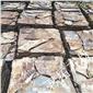 板岩垒墙石 浆砌片石挡土墙 河北青色板岩碎拼 园林碎拼石材
