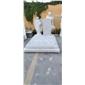 汉白玉耶稣雕塑耶稣墓碑加工