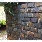 蘑菇石外墙砖-文化石蘑菇石-蘑菇石围墙石材