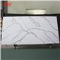 工厂卡拉拉白亚克力人造石仿石英石花纹人造石板