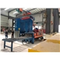 环保型喷砂机除尘机、筛沙斗机器