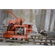 矿山锯石机(中国第一台矿山锯石机)