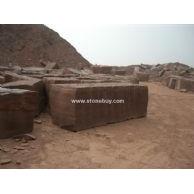 木纹石矿山