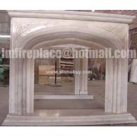 F-008(古典石材壁炉架Fireplace Mantel)