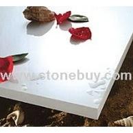 超白无孔微晶石(又称凤凰石、人造石、玉晶石、汉白玉石)