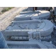 大理石墓碑-中式
