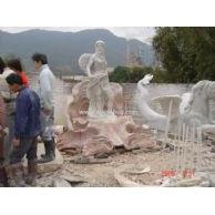 CA-012石雕人像