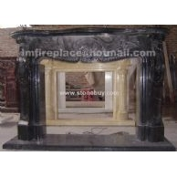 F-047(装饰石材壁炉架Fireplace Mantel)