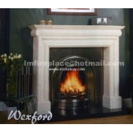 F-009(Fireplace Mantel线条型壁炉)