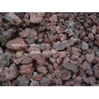 红色火山岩荒料