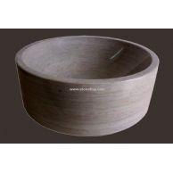 洗手盆YF-092古典米黄直桶
