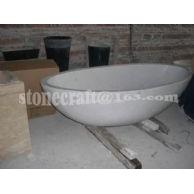 T-002(出口白色大理石浴缸MARBLE BATH)