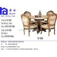 人造大理石餐桌椅