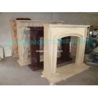 F-017(线条型壁炉架Fireplace Mantel)