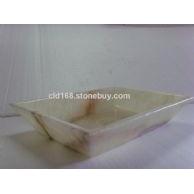 专业生产洗手盆(缅甸透光玉)