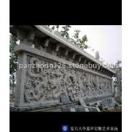 石雕九龙壁,龙文化壁,华表龙柱中华柱,龙戏珠戏水,蟠龙等各种龙型石雕