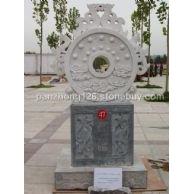 石雕和谐玉璧,文化广场石雕,嘉祥石雕,城市雕塑,小区景观雕塑