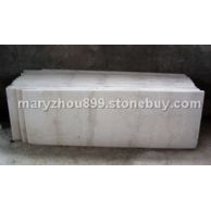 广西白大理石工程板 规格板