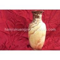 五彩玉(红龙玉)花瓶