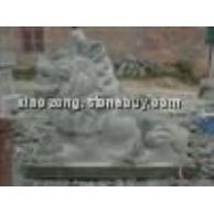 批发惠安石雕--港币狮