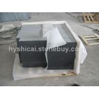 中国黑石材-654染板芝麻黑 芝麻灰 G641乔治亚灰 芝麻白.黄锈石