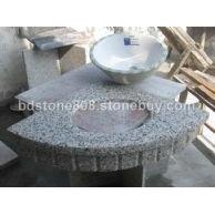 天然石材大理石/花岗岩:板材/石板(非瓷砖可比)之:洗手台面