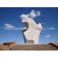 五莲红大型雕塑和平鸽1