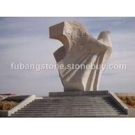 大型雕塑和平鸽3
