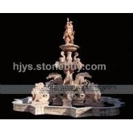 石雕喷泉,风水球,鸿福轮,大水发园林水景,石雕小桥流水,水榭亭台等东西方园林景观石雕花钵亭台