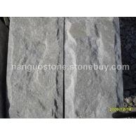 白石英板岩蘑菇石