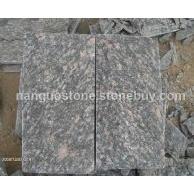 蘑菇石品种 牡丹红蘑菇石