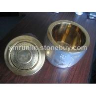 专利内胆经文水晶骨灰罐