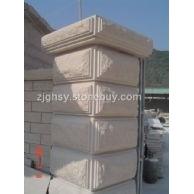 大门柱子   大门柱子瓷砖效果图   供应酒店大堂圆形柱子厂家