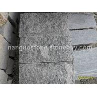 天然石材 黑白花板岩蘑菇石