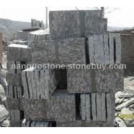 黑木纹板岩蘑菇石