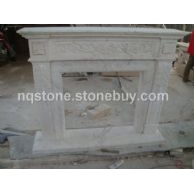 F-213希腊爵士白大理石壁炉架AJAX MARBLE FIREPLACE