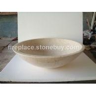 B-010(进口米黄大理石洗手盆MARBLE BASIN)
