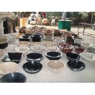 供应各类异形、圆形石材洗手盆Stone Basin