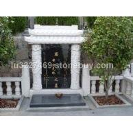 珍珠白墓碑