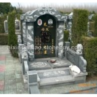 墓碑;石碑,欧式墓碑,白麻,黄麻。莱州青