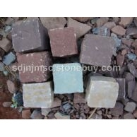 供应天然红砂岩,紫砂岩,绿砂岩全自然面,小方块