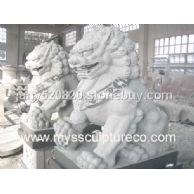 狮子雕刻,青石雕刻,动物雕刻
