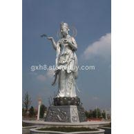 寺庙宗教石雕系列,千手观音, 菩萨罗汉佛像等佛神雕像