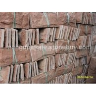 高粱红蘑菇石 外墙装饰石