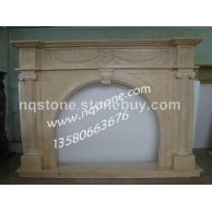 F-066欧式古典壁炉(Fireplace Mantel专业设计、制作石材壁炉架)