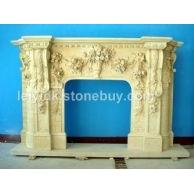 长期供应订做各种大理石壁炉石雕