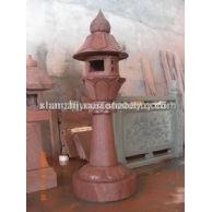 红砂岩灯笼
